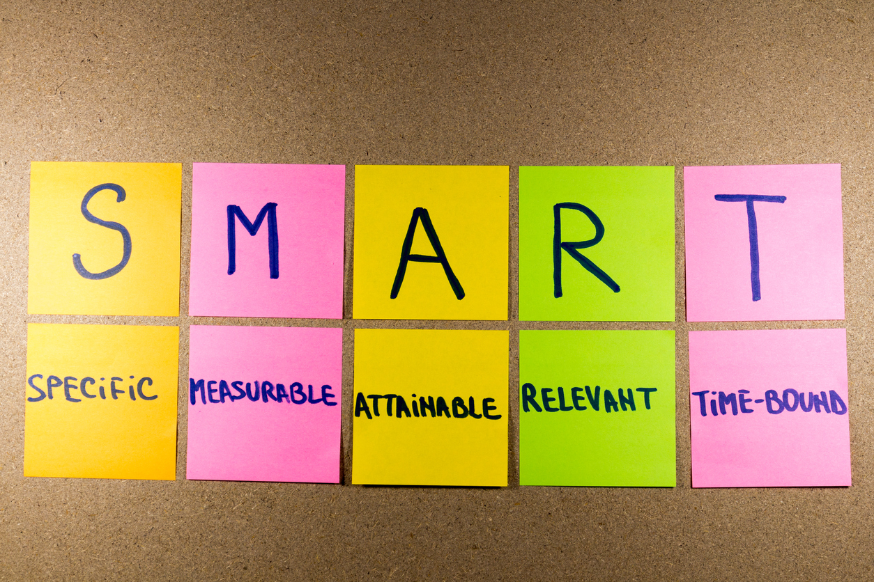 Turn your New Year's resolutions into SMART business goals